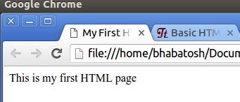 run html in browser