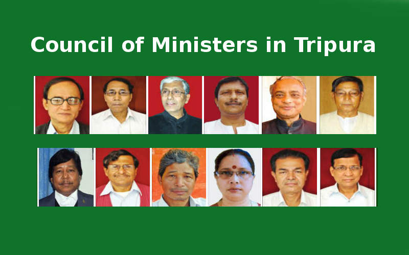 Council of Ministers in Tripura
