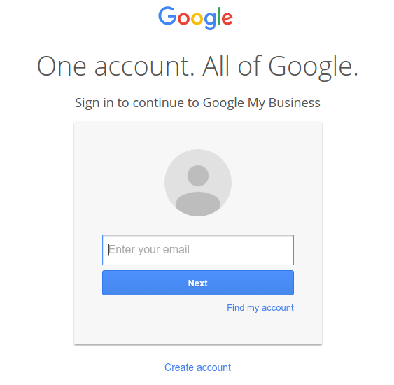 Login to google plus account